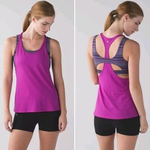 Lululemon All Sport Support Twist Tank Sports Bra